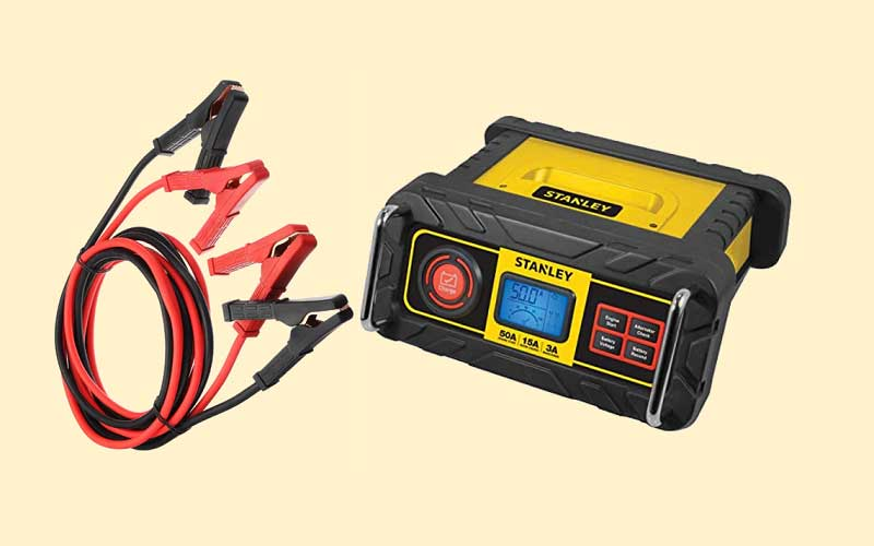 STANLEY BC15BS Fully Automatic 15 Amp 12V Bench Battery Charger/Maintainer review