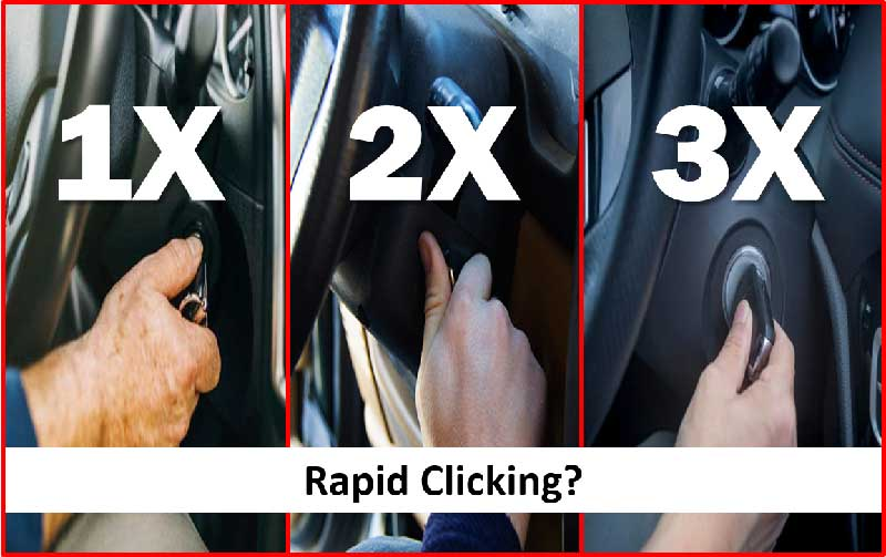 The Rapid Clicking Problem