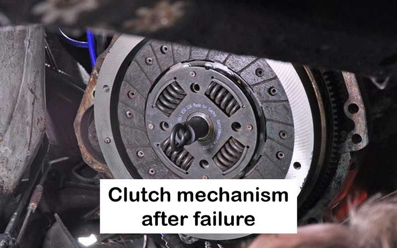 The total failure of Clutch function