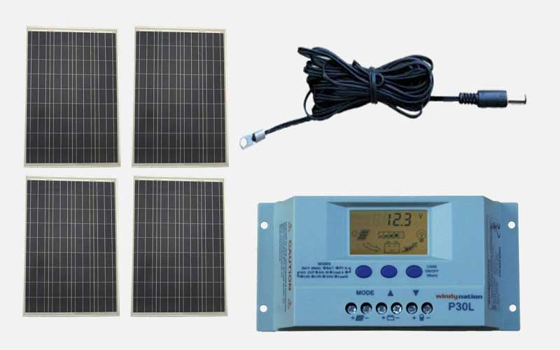WindyNation Solar Panel Complete Off-Grid RV Boat Kit review