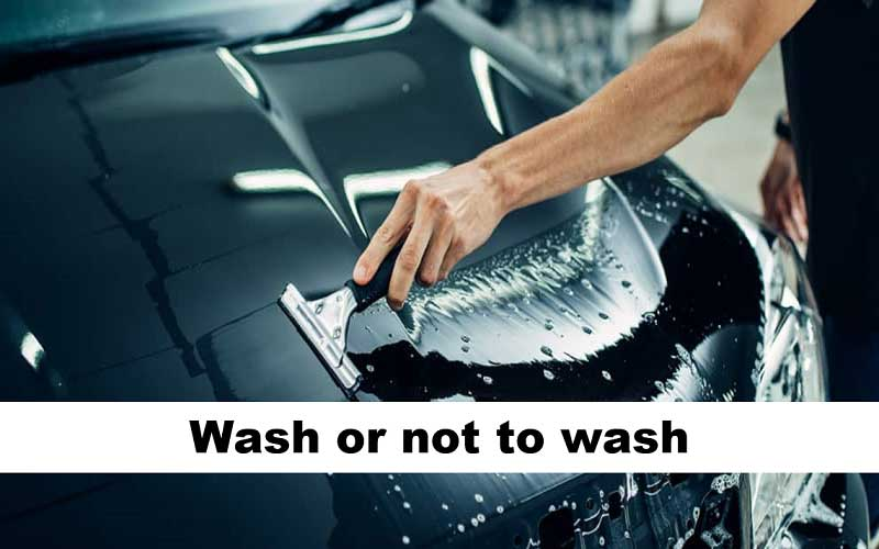 Wash when you need to, not when you want to