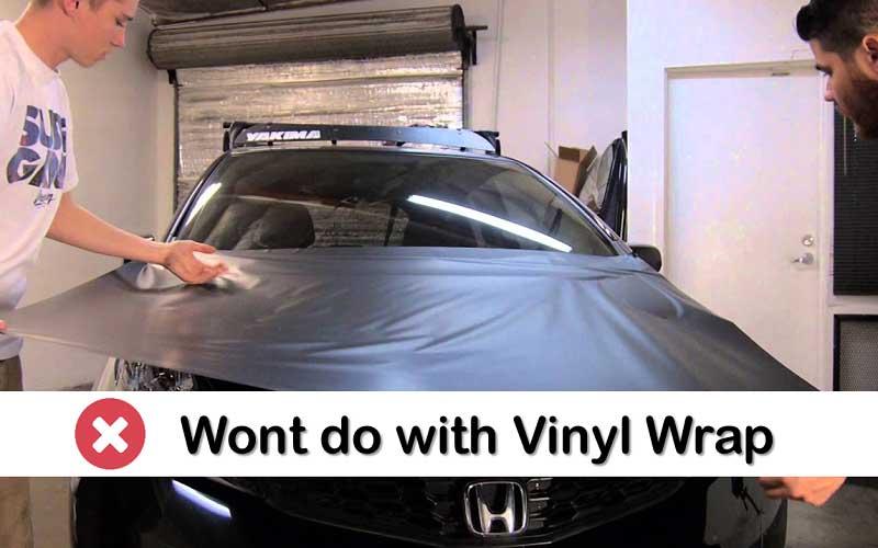 What the Vinyl Wrap won't do