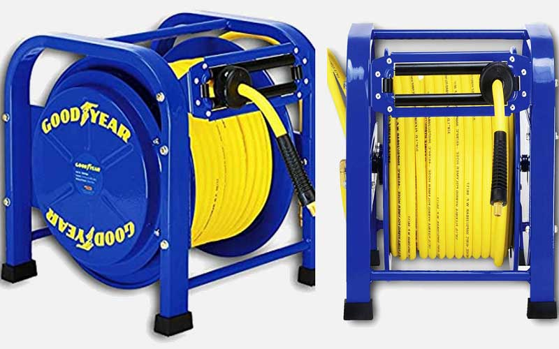 GOODYEAR Spring Driven Hose Reel review