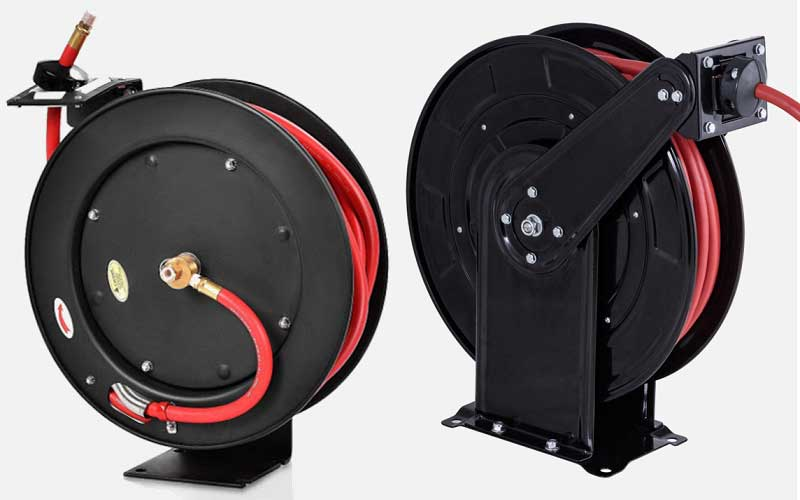 Goplus Retractable Air Hose Reel review