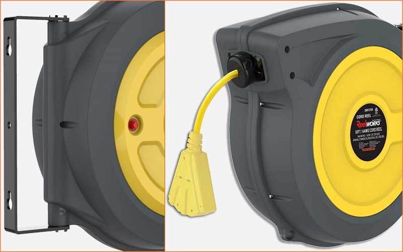 REELWORKS Extension Cord Reel review