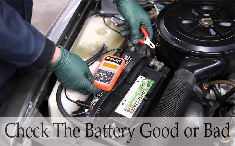 Battery Checking system good or bad