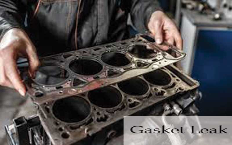 Gasket leakage is the cause of rough idle