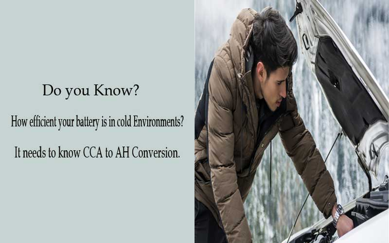 Need to know CCA to AH conversion