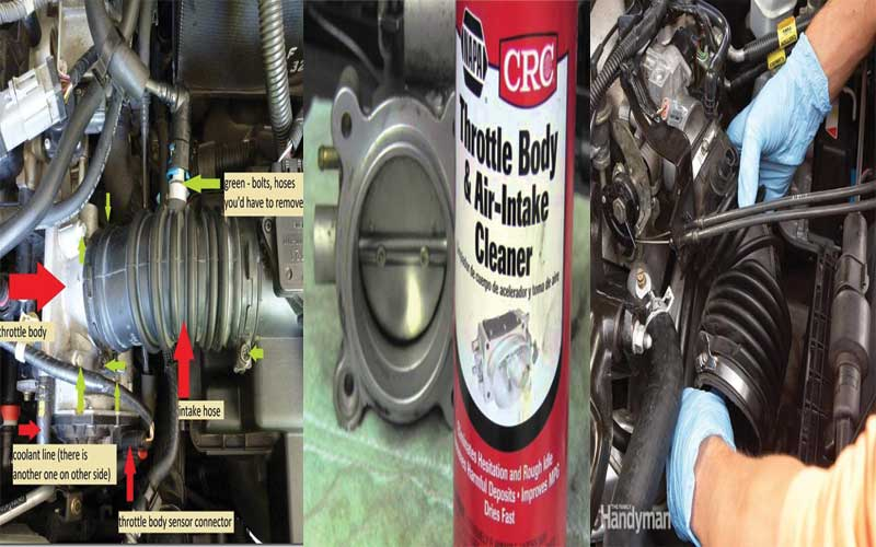 How to fix Bad throttle body symptoms