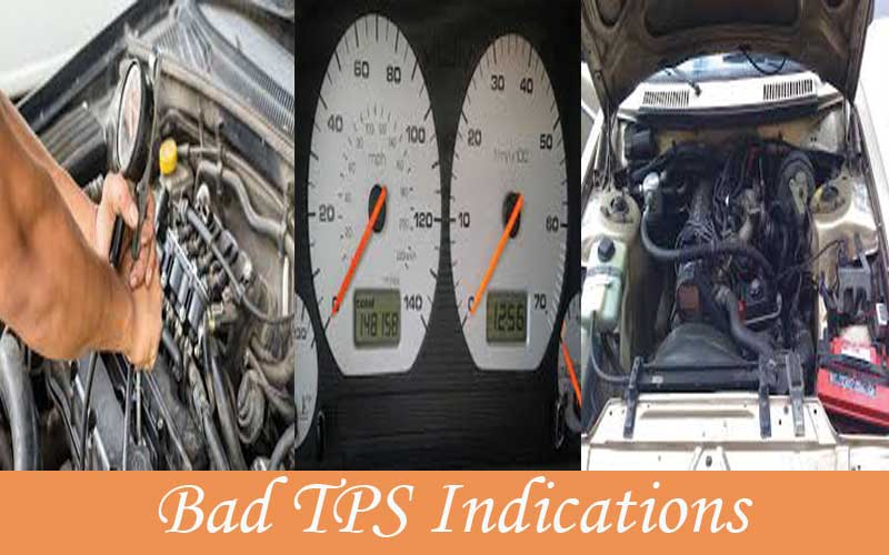 Indications of bad throttle sensor