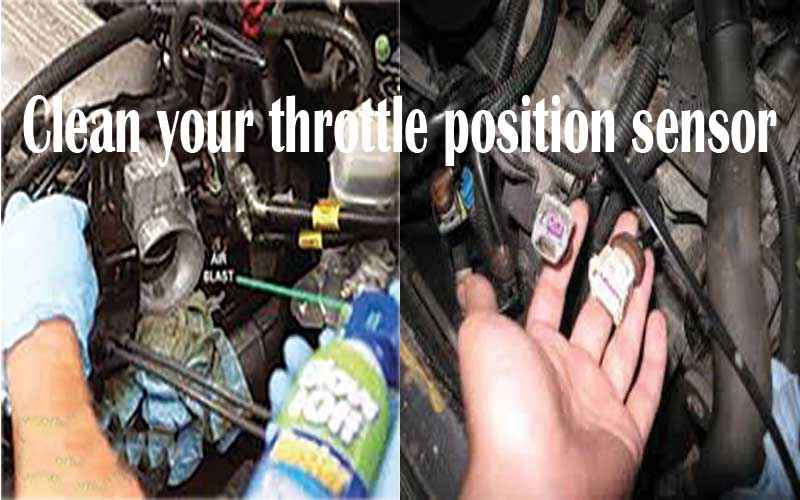 Best way - cleaning Throttle position sensor