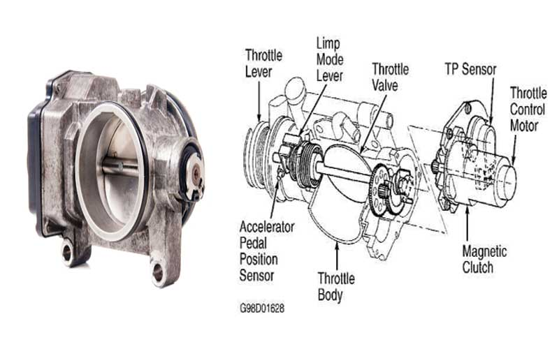 How does the Throttle body working