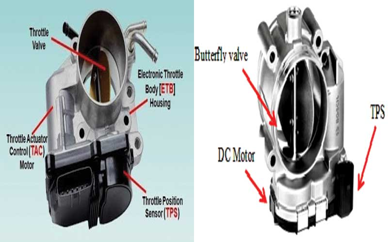 What is throttle body? Definition of throttle body.